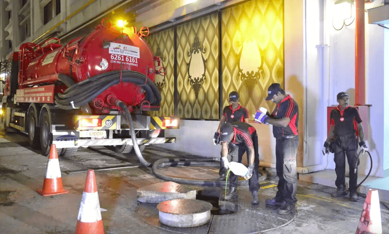 grease interceptor singapore maintenance and bio treatment