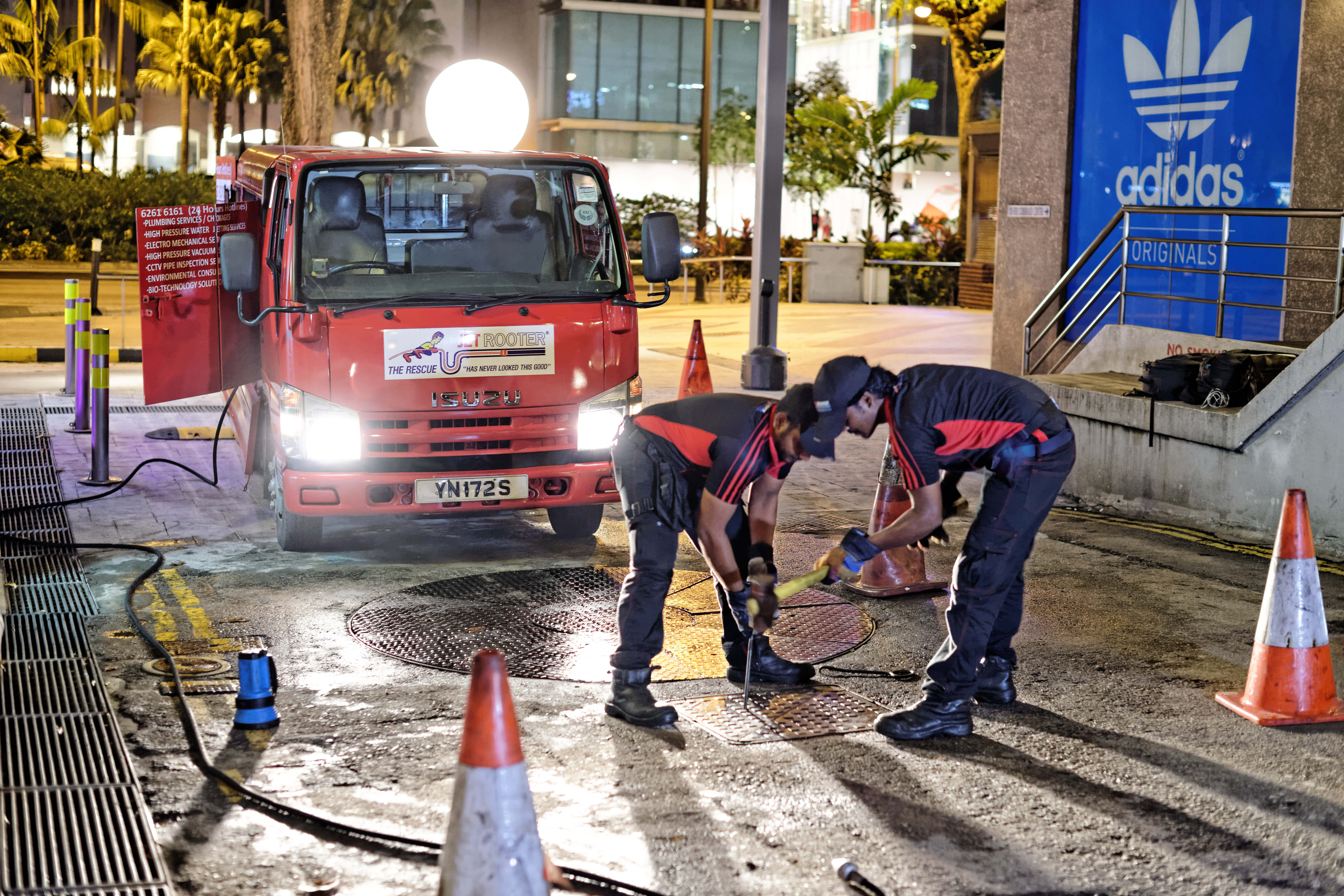 grease interceptor singapore water jetting services